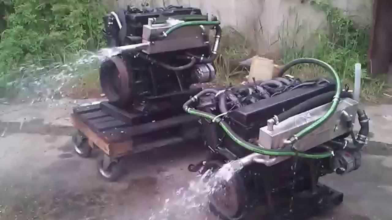 marynizacja silników mercedes - YouTube