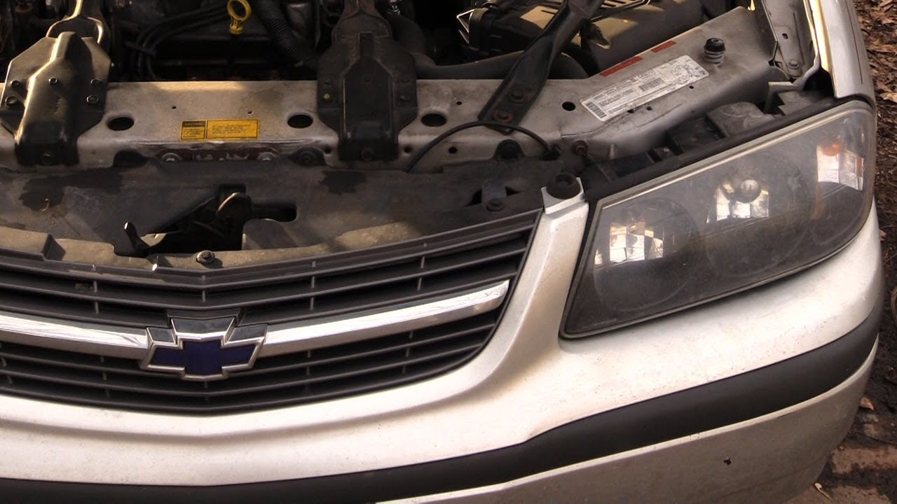 Chevy Impala Headlight And Bulb Change