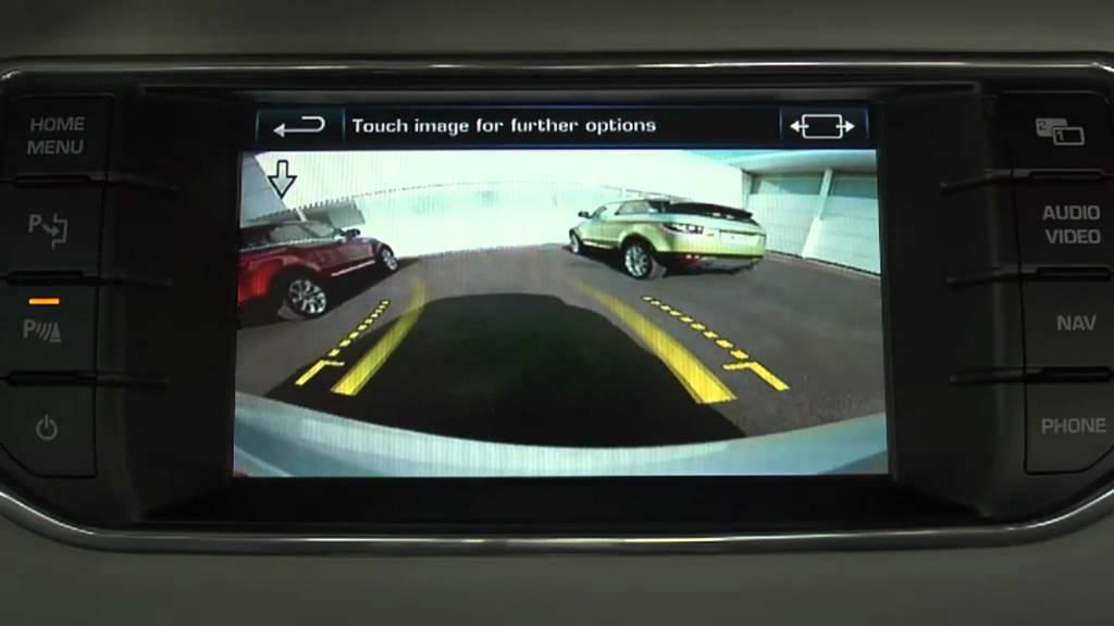 Range Rover Evoque Surround Camera System Youtube