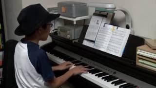 唱歌 青葉茂れる桜井の - 櫻井の訣別(別れ), 大楠公の歌 10歳 ピアノ弾き語り
