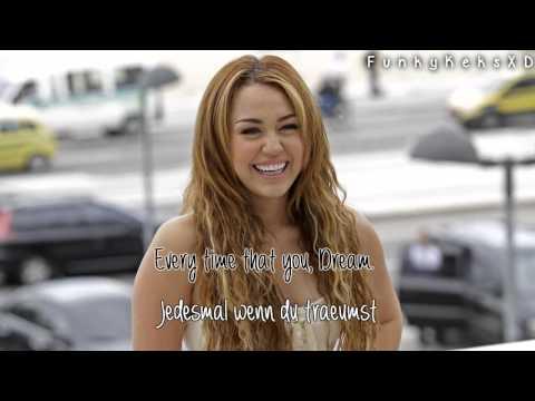 Miley Cyrus - Dream (Lyrics+Deutsche Übersetzung)