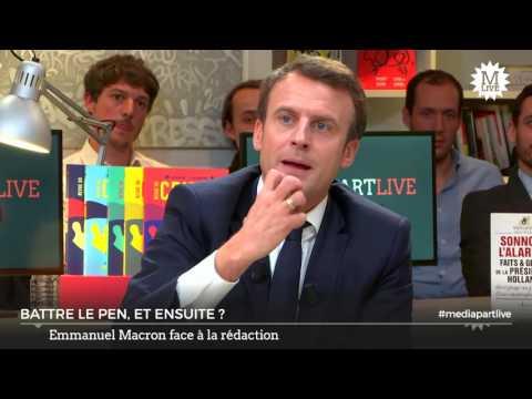Emmanuel Macron / Manuel Valls
