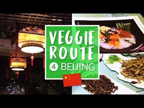 El restaurante veg más difícil de encontrar + Veggie Route #4 (ENG SUB) – Ni Hao Cassandra