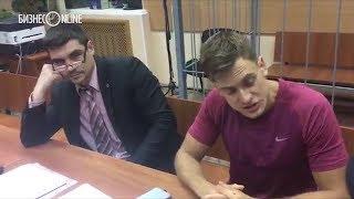 Задержанный во время финального матча ЧМ-2018 активист отвечает на вопросы журналистов