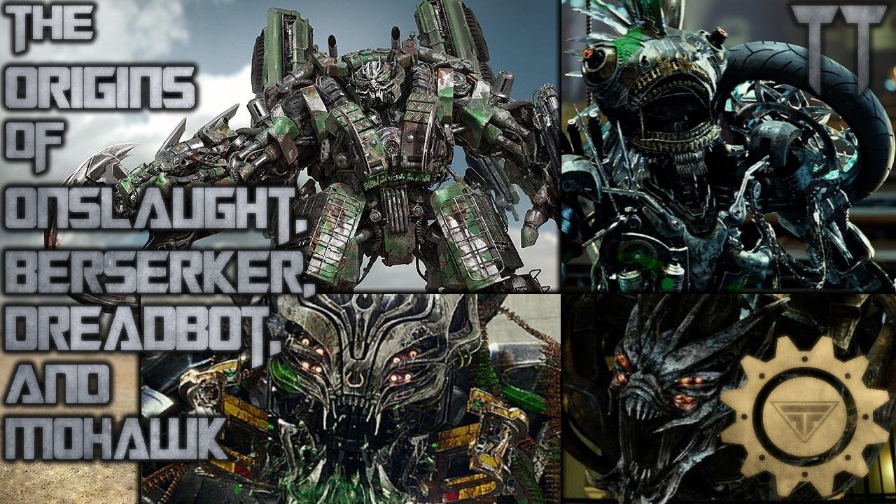 The Origins of Onslaught, Mohawk, Dreadbot, and Berserker
