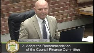 TOWN OF LOS GATOS PENSION & OPEB TRUSTS OVERSIGHT COMMITTEE /  March 03,  2020