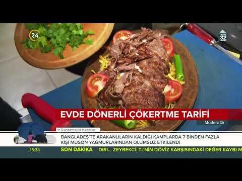 Razamanda Dönerli çökertme Tarifi / 24 TV / 23 Mayıs 2018