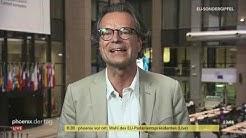 Schaltgespräch mit Ralph Sina (WDR-Korrespondent) zum EU-Sondergipfel in Brüssel am 02.07.19