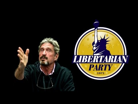 Libertarian Party candidate for president John McAfee invites Austin Petersen to drop acid with him