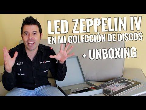 Comprando nueva música para mi colección: LED ZEPPELIN IV DELUXE BOX SET ( unboxing )