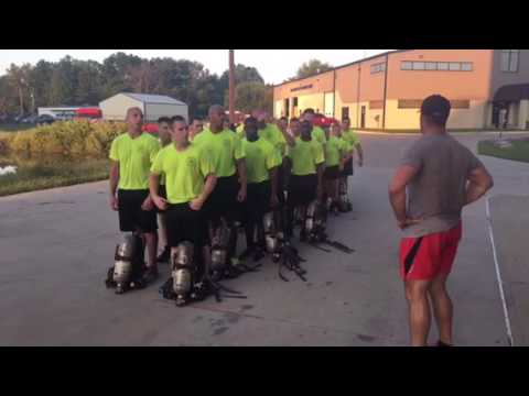Recruit Class 2016-1 Morning Physical Training