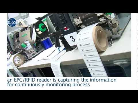 Item Level Tagging (ILT) EPC/RFID Tag Label Production and Warehouse Management