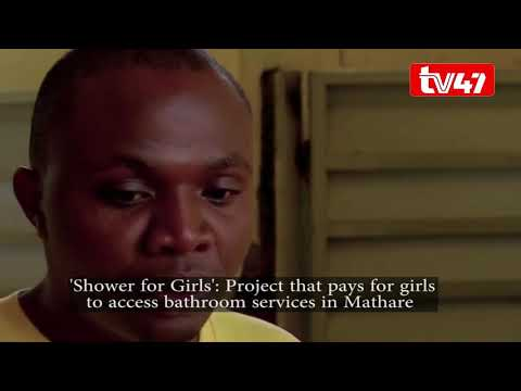 'Shower for Girls': Project that pays for girls to access bathroom services in Mathare