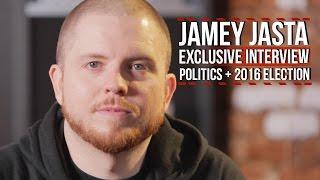 Hatebreed's Jamey Jasta on Politics, 2016 Election + Smashing Racism