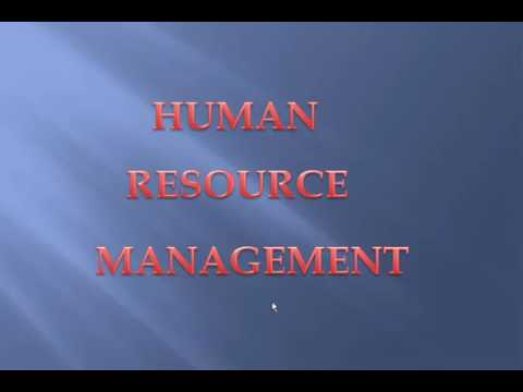 Human Resource Management (HRM) - Easiest Defined Ever