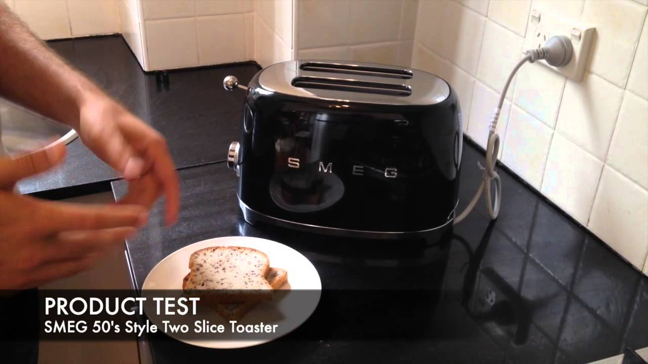 SMEG Retro 50 s Style Two Slice Toaster TSF01 Unboxing
