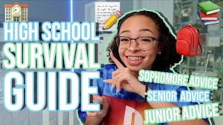 My 2019-2020 High School Survival Guide | How to Survive High School | aliyah simone