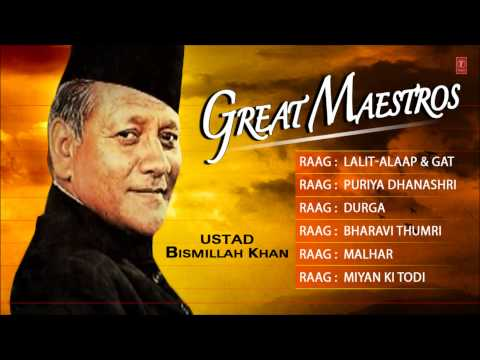 Great Maestros-Ustad Bismillah Khan(Full Song Jukebox) - T-Series Classical Instrumental