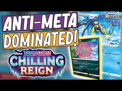 Chilling Reign Tournament Results | PTCGO Standard Meta 2021