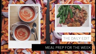 Weekly Meal Prep Recipe Ideas THE DAILY EDIT The Anna Edit