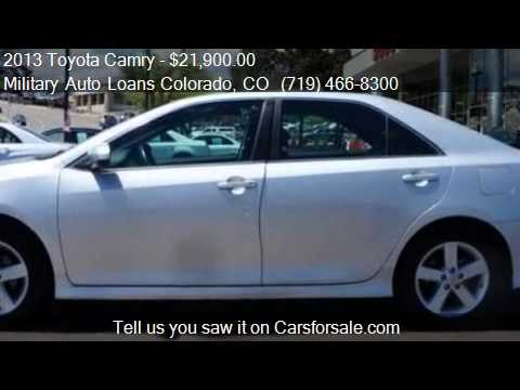 Toyota Camry Se For Sale In Colorado Springs Co