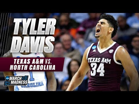 Texas A&M's Tyler Davis powers texas a m basketball