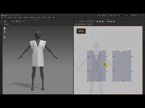 How To Use Marvelous Designer - Beginner Tutorial step by step