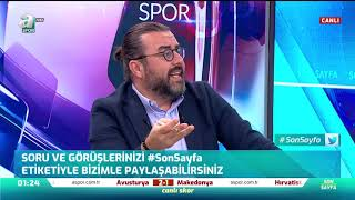 """Emre Bol: """"Fenerbahçe, Çok Dengesiz Bir Takım"""" / A Spor / Son Sayfa"""
