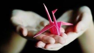 Как сделать журавля из бумаги.Как сделать журавлика из бумаги инструкция
