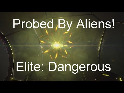 First Encounter With Alien Spaceship in Elite: Dangerous