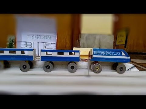 How To Make A Electric Train At Home Cal 1