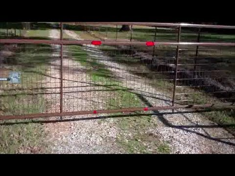 New Gates For The Homestead~Made In Texas !