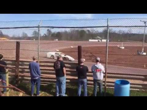 April 2, 2017 Skyline Speedway opening night AMRA Modified Group Qualifying