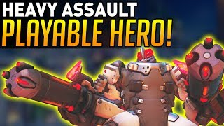 Overwatch | Playing as HEAVY ASSAULT in Competitive!