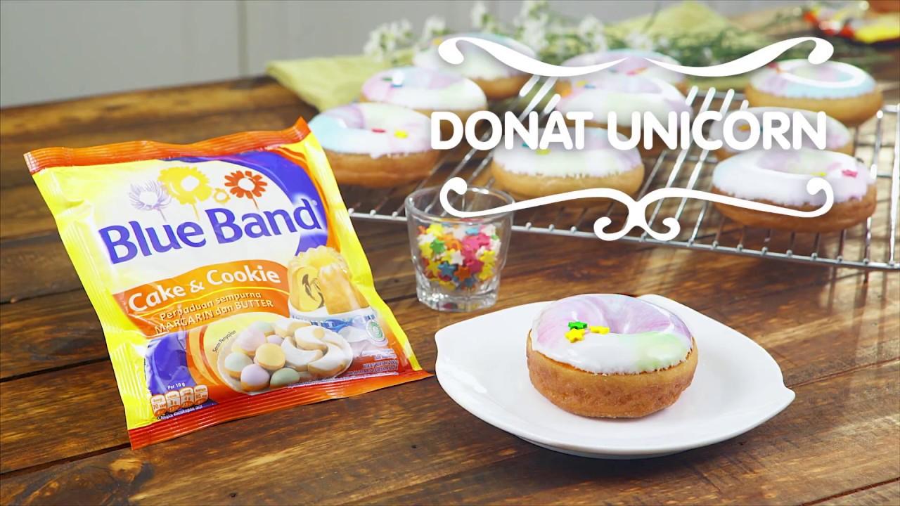 Resep Tanpa Oven Donat Unicorn Youtube