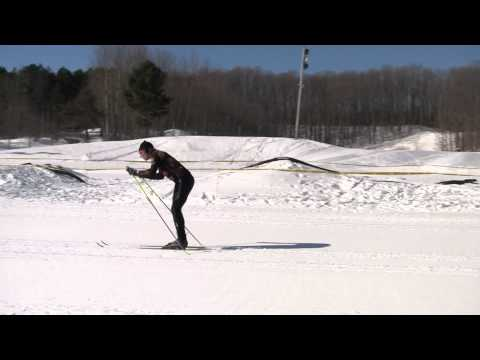 [Ski Video: XC Skiing - Diagonal Stride or Classic Technique]