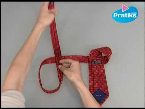 How to tie a tie in 10 seconds