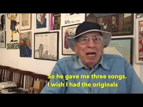 Izzy Young – the man who discovered Bob Dylan