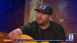 "Mitchell Tenpenny Performs ""Drunk Me"" Live on KTLA Video"