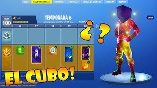 BATTLE PASS 6 BATTLE SKIN 6 SAISON!