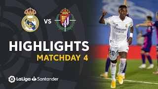 Highlights Real Madrid vs Real Valladolid (1-0)