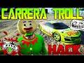 TROLL EPICO CARRERA TROLL CON HACKS! GTA V ONLINE ADELANTANDO UN OVNI !! Funny moments - Makiman