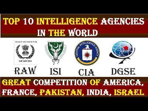 Top 10 Intelligence Agencies in the World 2017-2018