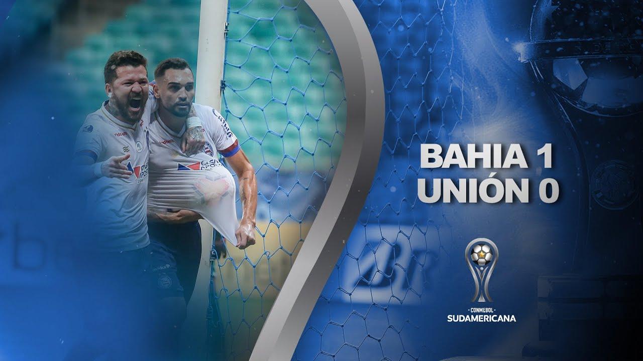 Bahia vs. Unión [1-0] | RESUMEN | Octavos de Final | CONMEBOL Sudamericana