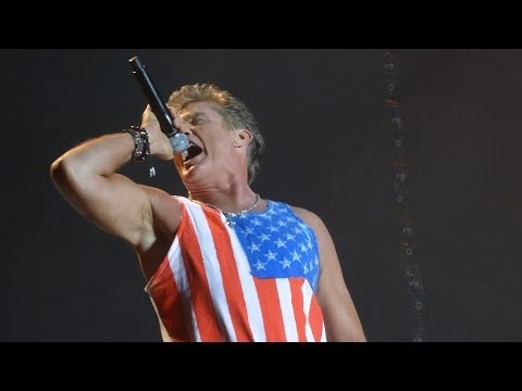David Hasselhoff @ Nova Rock 2014 - Looking For Freedom [Full HD]