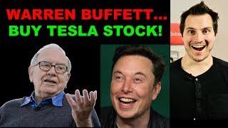 Warren Buffett Should Buy Tesla Stock Heavy!  Elon Musk