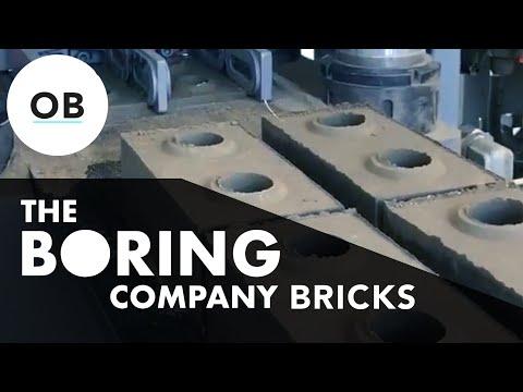 What Happened To The Boring Company Bricks?
