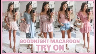 SUMMER OUTFIT IDEAS 2019 | GOODNIGHT MACAROON TRY ON HAUL + REVIEW