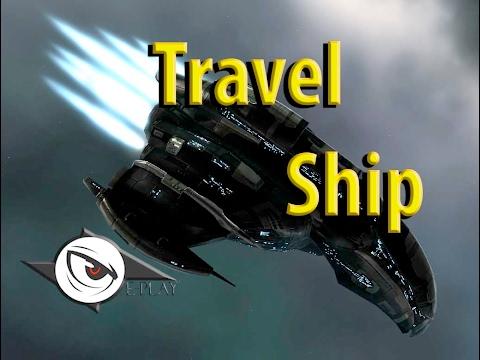 EVE ONLINE BR: Travel Ship - Como criar uma nave rapida para Locomoção