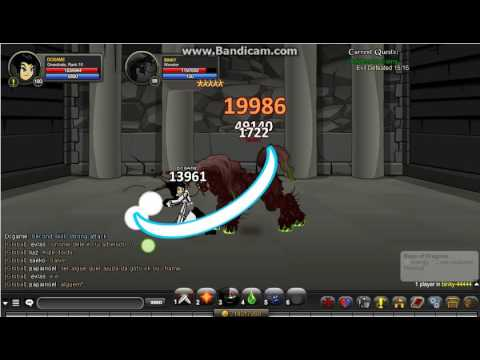 Onclax-AQW private server- Greezhala class review